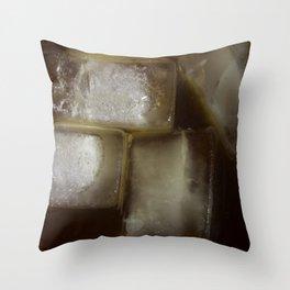 Iced coffee Throw Pillow