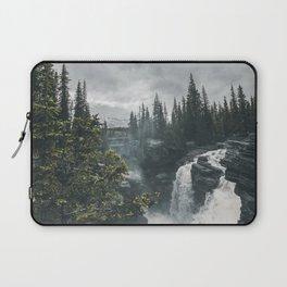 Athabasca Falls Alberta Laptop Sleeve