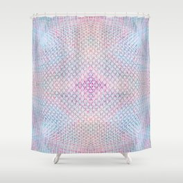 Ghosty Dots Bubble Shower Curtain