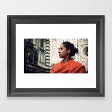 I Married UP! Framed Art Print