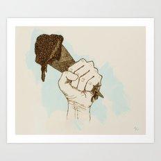 Cone Crusher Art Print