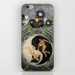 Power's of Yin & Yang iPhone Skin