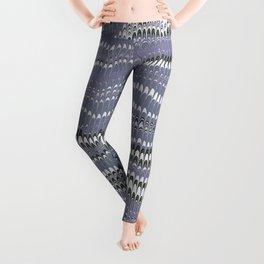 Electrified Ripples Lavender Leggings