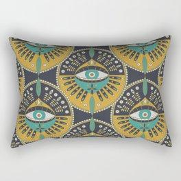 Tribal Evil Eye Pattern Rectangular Pillow