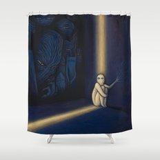 Dark Side Of Me Shower Curtain