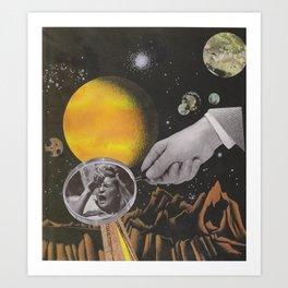 Spacey Mind Tricks Art Print