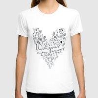 bonjour T-shirts featuring Bonjour by oh, sensation!