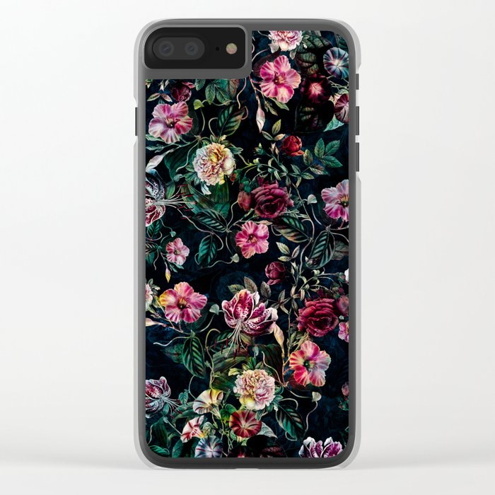 SECRET GARDEN III Clear iPhone Case