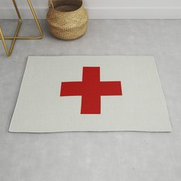 Remember Red Cross Rug