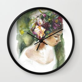 In The Garden Wall Clock