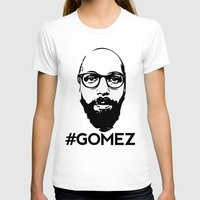 selena gomez T-shirts featuring Gomez - Black by Dominic DiMaria