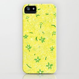 Spring Flowers Before April Showers iPhone Case