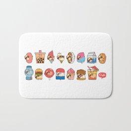 Puglie Food Collection 3 Bath Mat