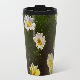 Field of Daisies by Aloha Kea Photography Travel Mug