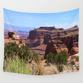 Shafer Canyon Overlook Wall Tapestry