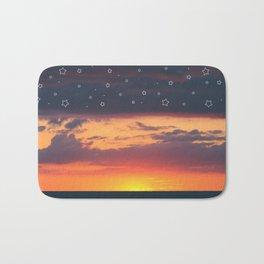 Florida Sunset - Stars Bath Mat