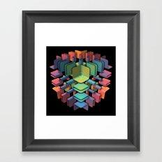 Together, Separately Framed Art Print