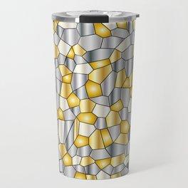 Metalic Mosaic Travel Mug