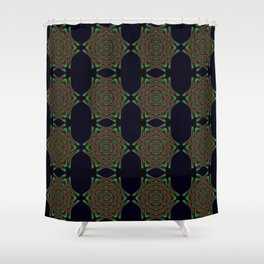 Jungle Roses Shower Curtain