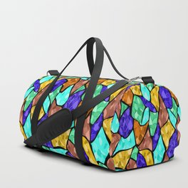 Abstract summer pattern Duffle Bag