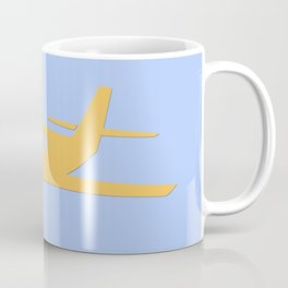 airplane illustration Coffee Mug