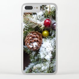 Welcome Winter Clear iPhone Case