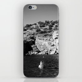 Girl in Lake iPhone Skin
