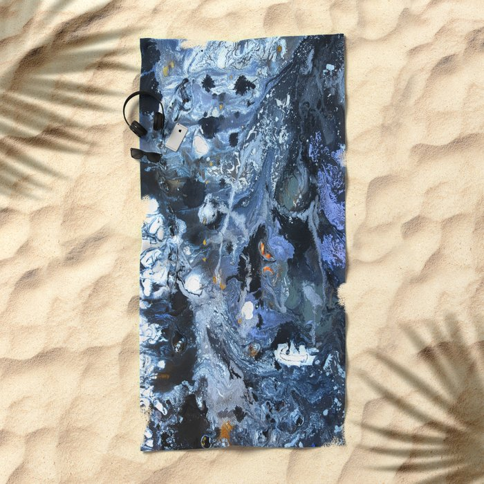 Lunar Surface Beach Towel