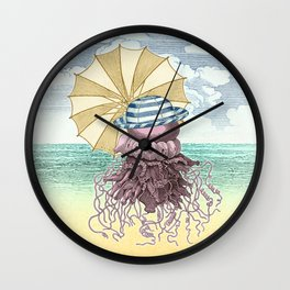 Summer Promenade Wall Clock