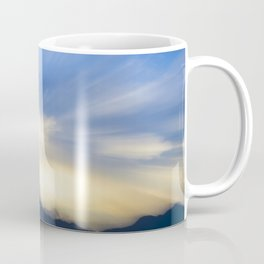 Evanescent 4 (Blue and Gold) Coffee Mug