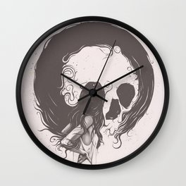 Apprehension Wall Clock