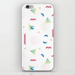 Geometric illustration iPhone Skin