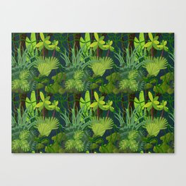 Endless Jungle Canvas Print