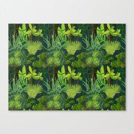 Endless Jungle Canvas Print