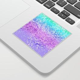 Unicorn Girls Glitter #9 #shiny #decor #art #society6 Sticker