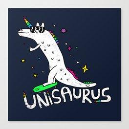 Unisaurus Canvas Print