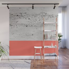 Living Coral on Concrete #1 #decor #art #society6 Wall Mural