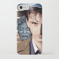 doctor who iPhone & iPod Cases featuring Doctor Who by SB Art Productions