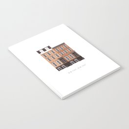 New York City, NYC Brownstone Notebook