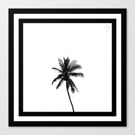 Palm Tree Squared Canvas Print