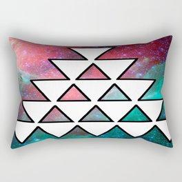 The Pyramids of the Aztecs Rectangular Pillow