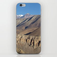 Scenery from Road to Jomsom iPhone & iPod Skin