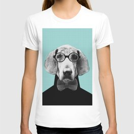Mr Italian Bloodhound the Hipster T-shirt