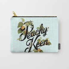 Peachy Keen : Mint Carry-All Pouch