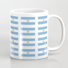 Flag of argentina 2 -Argentine,Argentinian,Argentino,Buenos Aires,cordoba,Tago, Borges. Coffee Mug