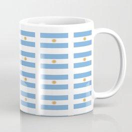 Flag of argentina 2 -Argentine,Argentinian,Argentino,Buenos Aires,cordoba,Tago, Borges. Coffee Mug