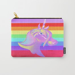 """""""Unicorn And A Rainbow"""" Carry-All Pouch"""