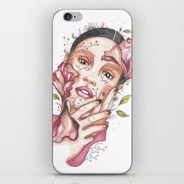I am nature iPhone Skin