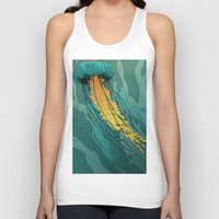 jellyfish Tank Tops featuring Jellyfish  by Stranger Designs