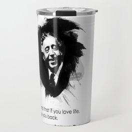 Arthur Rubinstein - Love Life Travel Mug